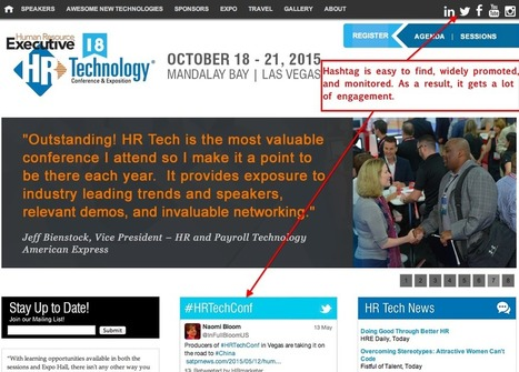 So Many Conferences Are Failing at Twitter! Follow These Four Hashtag Best Practices | Best Twitter Tips | Scoop.it
