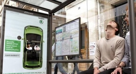 France : Des abribus interactifs placent les voyageurs au volant de la nouvelle Citigo de Skoda | Ooh-tv | ubimedia and ubiquitous internet | Scoop.it