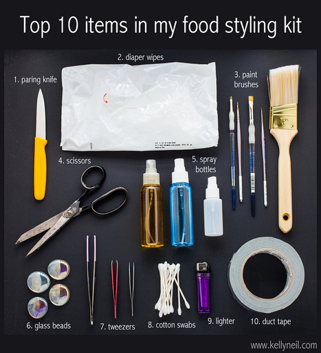 Top 10 Items In My Food Styling Kit... | Food Meditations Time | Scoop.it