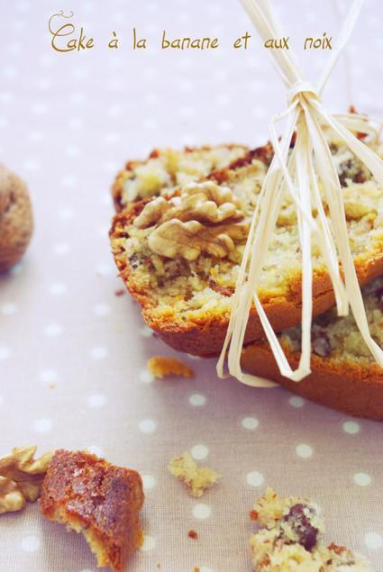Cake à la banane et aux noix | Veggie & vegan desserts | Scoop.it