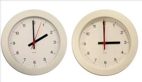 La Comisión de Horarios pide al Gobierno no cambiar la hora el sábado | Actualidad España | Scoop.it