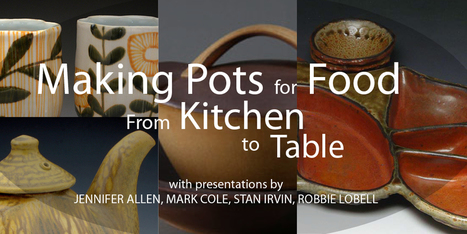Ceramic Arts Daily – Making Pots for Food: From Kitchen to Table | Ceramics-Pottery | Scoop.it