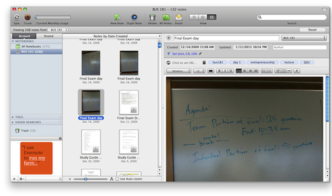 10 Tips for Teachers Using Evernote - Education... | iPad Implementation in High School | Scoop.it