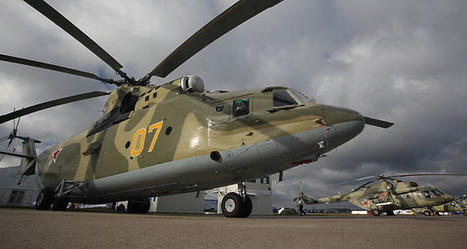 Russia, India plan to sign contract for Mi-26 helicopter repair | Helicopters | Scoop.it