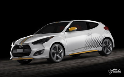Hyundai Veloster turbo 2013 3D | 3D Library | Scoop.it