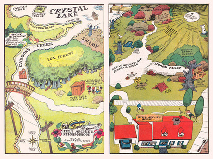 Comic Book Cartography | Cartography | Scoop.it