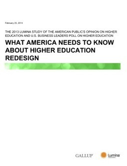 What America Needs to Know About Higher Education Redesign | IssueLab | Research Development | Scoop.it