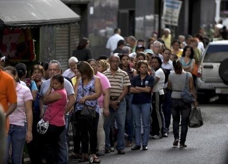 Pénurie au Venezuela : l'économie broie du noir | Venezuela | Scoop.it