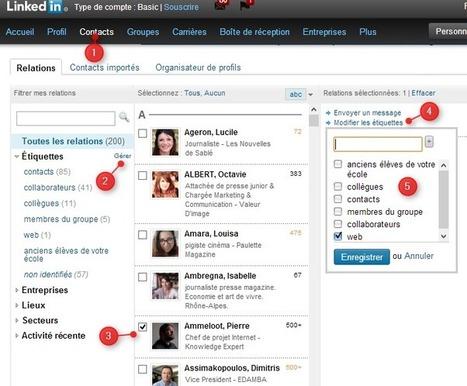 C'est l'été, mettez de l'ordre dans vos contacts LinkedIn | Going social | Scoop.it