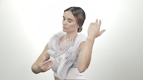 This 3D Printed Wearable is the Future of Fashion and an Extension of the Wearer's Body   Style & Fashion   Scoop.it