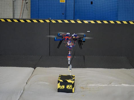 Flying drone meets 3D printer, buzzwords hit critical mass - CNET | FabLab & 3D Printing | Scoop.it