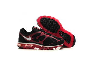 Mens Air Max 2012 Black Action Red Shoes | popular and new list | Scoop.it