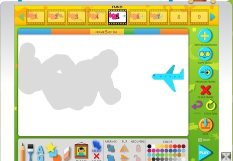 Free Technology for Teachers: Create 100 Frame Animations on ABCya Animate | Edtech PK-12 | Scoop.it