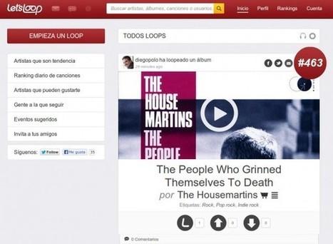 Let's Loop – Escucha, comparte y descubre música en esta plataforma integrada con Spotify, Deezer, Rdio, Youtube, etc. | Las TIC y la Educación | Scoop.it