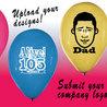 25 free happy birthday custom balloons!