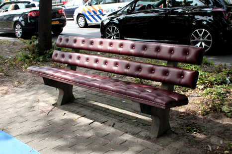 chesterfield park bench by joost goudriaan | 360° design | Scoop.it