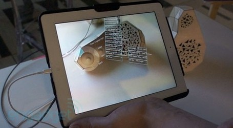 Just add Google Glass - MIT's Smarter Objects can map Augmented Reality UI onto... anything (video) | It's All Social | Scoop.it