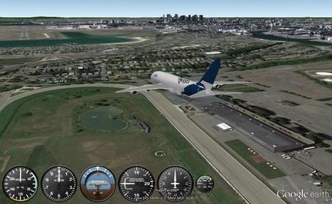 Using the Google Earth Flight Simulator - Google Earth Blog   SUT   Scoop.it