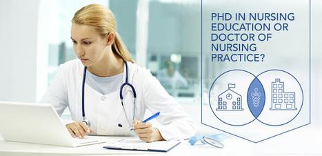 Research or Practice?  PhD in Nursing Education or Doctor of Nursing Practice? | Nursing Education | Scoop.it