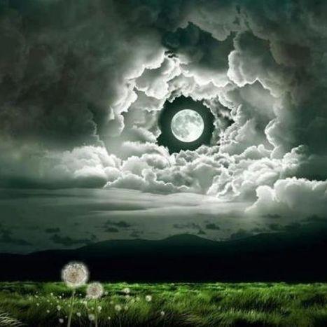 Strange but Beautiful moon | LOVELY | Scoop.it