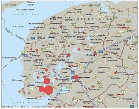Jaarverslag Friese Gierzwaluwtelling 2011 | Gierzwaluwen | Scoop.it
