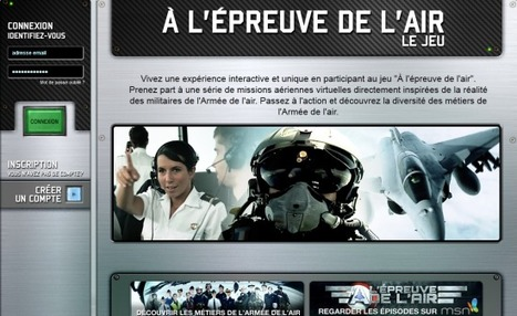 #Recrutement : la campagne transmedia de l'armée de l'air - Décriptage | RH EMERAUDE | MediAlternative | Scoop.it