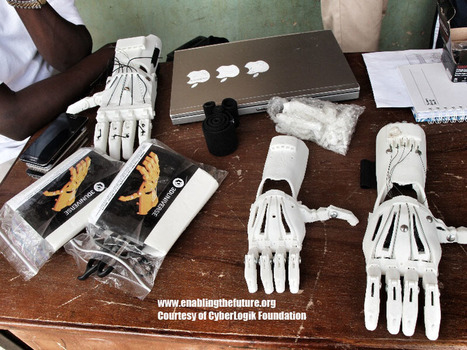 """Enabling The Future - A Global Network Of Passionate Volunteers Using 3D Printing To Give The World A """"Helping Hand."""" #makered   Blogs, Blogging tips, Staying healthy while blogging   Scoop.it"""