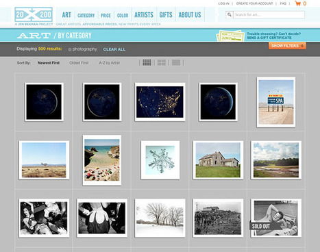 20x200 and the Business of Selling Photo Prints as Affordable Art   Digital-News on Scoop.it today   Scoop.it