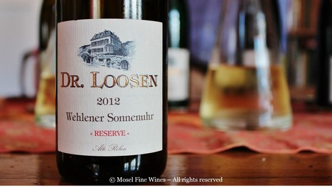 Erni Loosen and the GGR Riesling wines... | Vitabella Wine Daily Gossip | Scoop.it