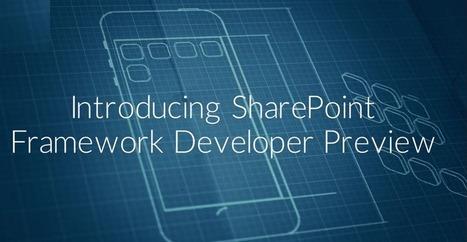 Microsoft releases SharePoint framework developer preview   SharePoint Development   Scoop.it