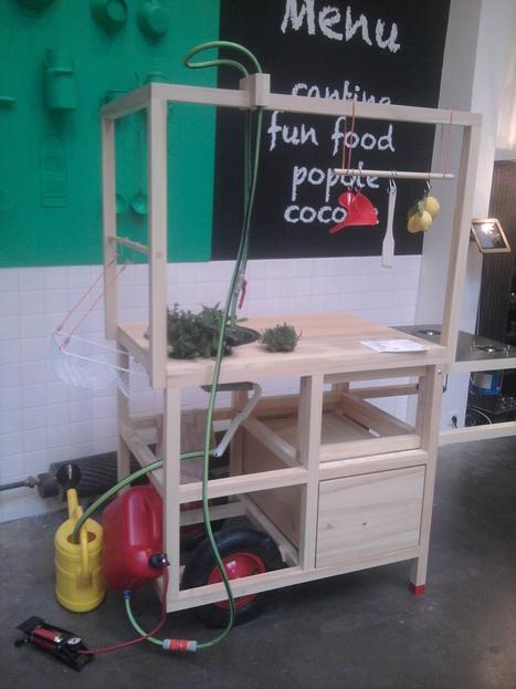 Kitchen for a change/ Mobile Hospitality by Chmara Rosinke | Du mobilier, ou le cahier des tendances détonantes | Scoop.it