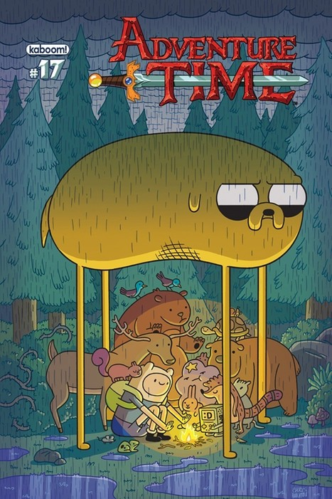 'Adventure Time' #17 Gets Covers By Houghton, Moen, Salume And McClaren | Comic Books | Scoop.it