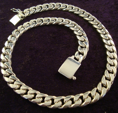 """Men's 20"""" Chain Necklace - Mexican Silver Store 