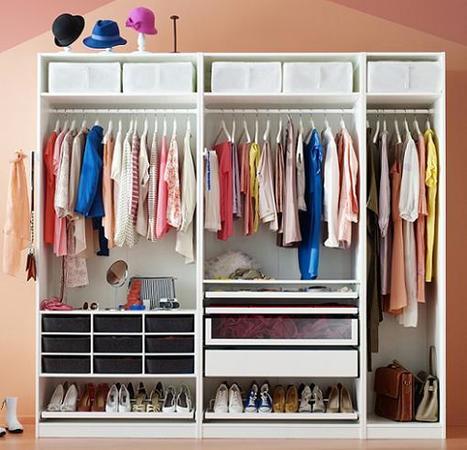 Ideas para cambiar tu armario o tu vestidor. | Decoración casa | Scoop.it