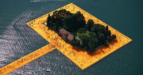 How Christo Built His Latest Work: Two Miles of Floating Walkway | Travel Bites &... News | Scoop.it