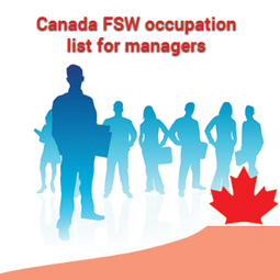 Canada FSW occupation list for managers | Immigration Consultants India | Scoop.it
