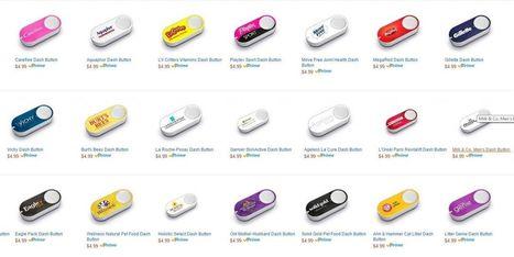 Une centaine de marques désormais associées au Dash Button d'Amazon | Nestle | Scoop.it