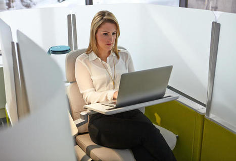 Can't Focus In Your Open Office? Wrap Yourself In This New Cocoon To Tune Out Distraction | Real Estate Plus+ Daily News | Scoop.it