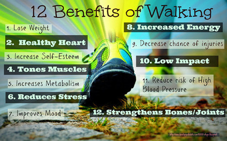 Benefits of Walking - 10,000 Daily Steps to a Lifetime of Health | StepsHunter | Scoop.it