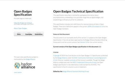Open Badges spec v1.1 Release | Digital Badges | Scoop.it