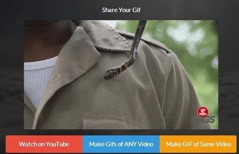 Comment convertir une vidéo YouTube en Gif sans rien installer? | webdesign and technologies | Scoop.it