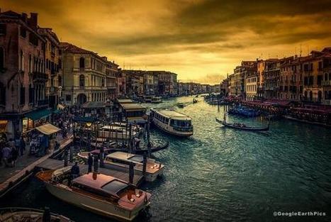 Twitter / GoogleEarthPics: Venice at Sunset, Italy ... | Italmania | Scoop.it