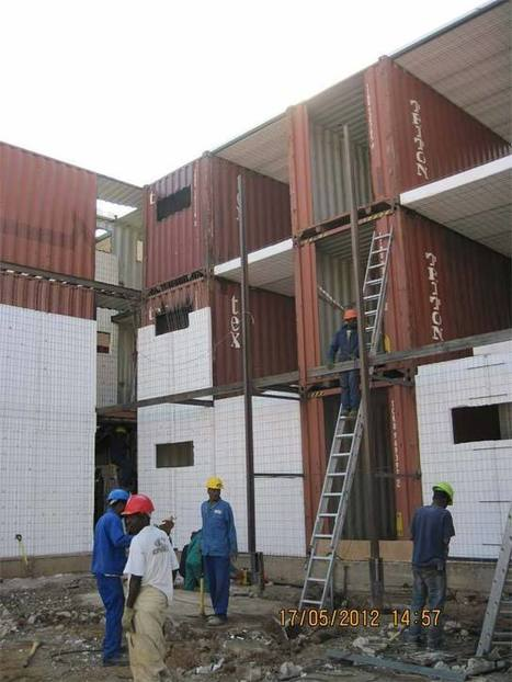 Container housing: Will it fly? - Moneyweb.co.za | Container houses | Scoop.it