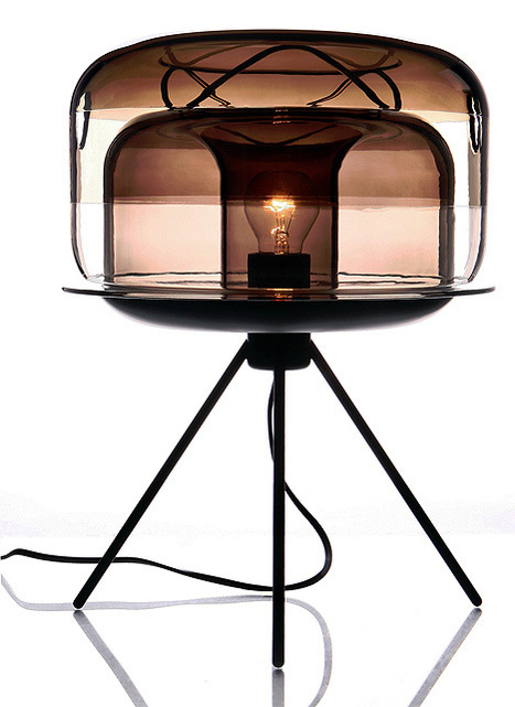 Lights wear glass / Glowbelly Steamboat by Tan Lun Cheak | Du mobilier, ou le cahier des tendances détonantes | Scoop.it