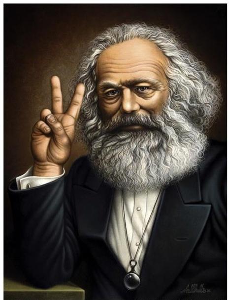 Karl Marx et les médias - Le blog de Bernard Gensane | réseaux sociaux et pédagogie | Scoop.it