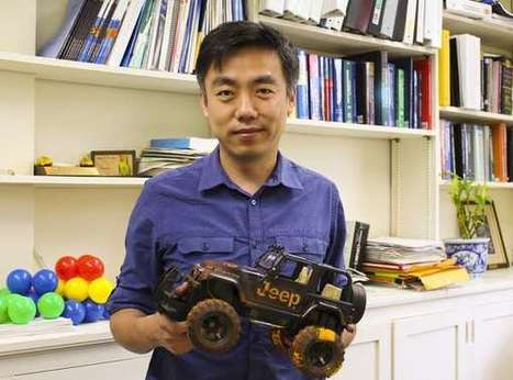 New nanogenerator harvests power from rolling tires | Amazing Science | Scoop.it