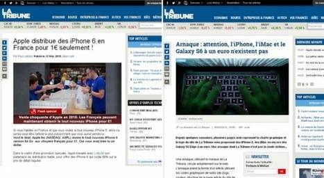 iPhone, Samsung S6 à 1 euro ? Evidemment, c'est une arnaque | Tél&coms | Scoop.it