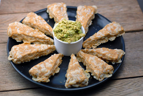 Nacho Cheese Triangles from Elana's Pantry | Gluten Free | Scoop.it