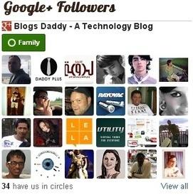 How To Add Google+ Followers Gadget To Blogger Blog - Blogs Daddy | Blogger Tricks, Blog Templates, Widgets | Scoop.it