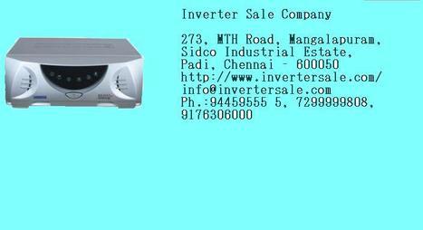 Panasonic batteries Chennai, Xenon inverter Chennai, microtek inverters | Digital Power | Scoop.it